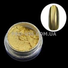 Зеркальный пигмент Золото 1 г фото | PRO-VSE