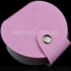 Органайзер для дисков круглый розовый 24