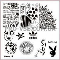 Пластина Helen 14